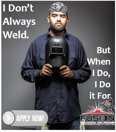 You'll Love Working at Fusion Mechanical & Process